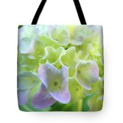 Fine Art Prints Hydrangeas Floral Nature Garden Baslee Troutman Tote Bag