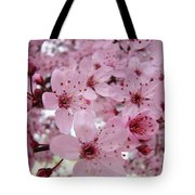 Fine Art Prints Spring Pink Blossoms Trees Canvas Baslee Troutman Tote Bag