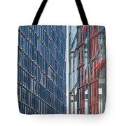Fine Line Between Buildings Tote Bag