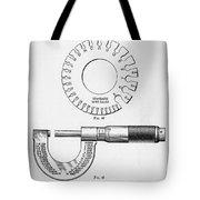 Fine Measurement Gauges  Tote Bag