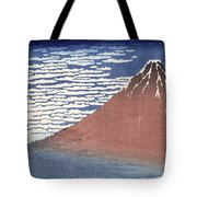 Fine Weather With South Wind Tote Bag by Hokusai