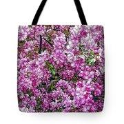 Fine Wine Cafe Apple Blossoms Tote Bag