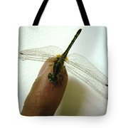 Finger Tip Tote Bag