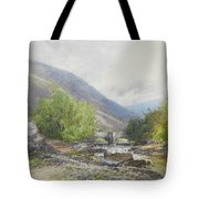 Fingle Bridge On The Teign Tote Bag