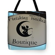 Finishing Touches Boutique Tote Bag