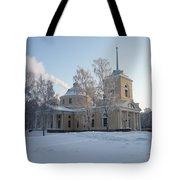 Finland Church Tote Bag