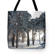 Finland Forest Tote Bag