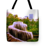 Finlay Park Fountain Summertime Tote Bag