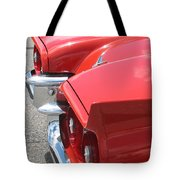 Fins Of Thunder Tote Bag