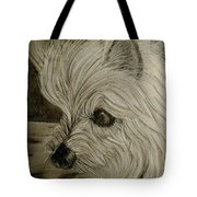 Fiona In Thought Tote Bag