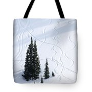 Fir And Snow Tote Bag