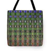 Fir Tree Forest Abstract #7215wt Tote Bag