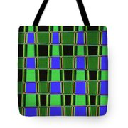 Fir Tree Fork Abstract #7075 Tote Bag