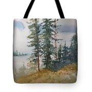 Fir Trees Tote Bag