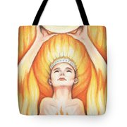 Fire - The Elements Tote Bag