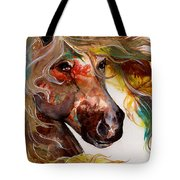 Fire Agate Tote Bag