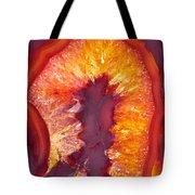 Fire Agate Tote Bag