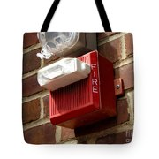 Fire Alarm Horn And Strobe Tote Bag