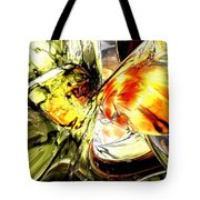 Fire And Desire Abstract Tote Bag