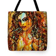 Fire And Desire Tote Bag