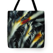 Fire And Frost Tote Bag