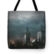 Fire And Ice Tote Bag by Andrew Paranavitana