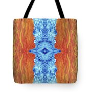 Fire And Ice - Digital 2 Tote Bag