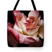 Fire And Ice Rose 2 Tote Bag