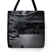 Fire And Sunset Tote Bag
