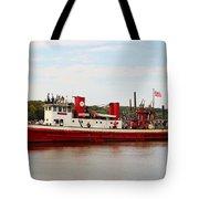 Fire Boat Tote Bag