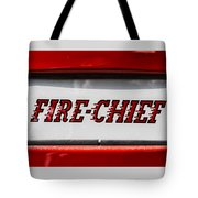 Fire-chief Tote Bag
