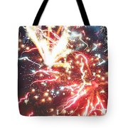 Fire Confetti Tote Bag