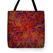 Fire Crystals Tote Bag