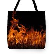 Fire Dancers Tote Bag