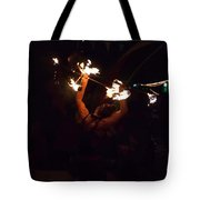 Fire Daredevil Tote Bag