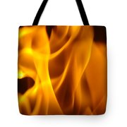 Fire Desires Art Fiery Hot New York Autumn Warmth Baslee Troutman Tote Bag