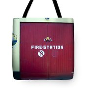 Fire Door In Macroom Ireland Tote Bag