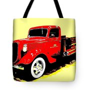 Fire Engine Ok Tote Bag