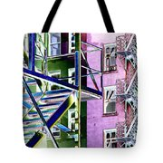 Fire Escape 2 Tote Bag