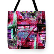 Fire Escape 3 Tote Bag