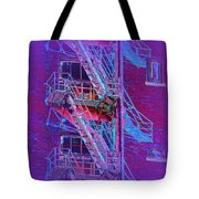 Fire Escape 4 Tote Bag