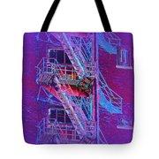 Fire Escape 4 Tote Bag