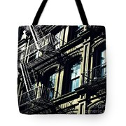 Fire Escape On Franklin Street 2 Tote Bag