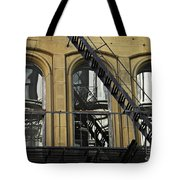 Fire Escape On Franklin Street Tote Bag
