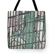 Fire Escape Reflection Tote Bag