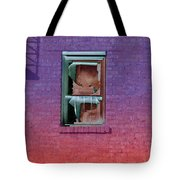 Fire Escape Window 2 Tote Bag