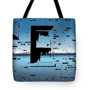 Fire Escape Window Tote Bag