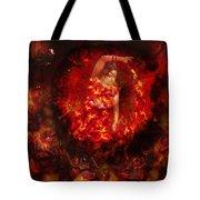 Fire Eye Tote Bag