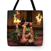 Fire Feat Tote Bag