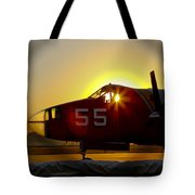 Fire Fighting Aircraft Tote Bag